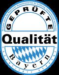 Geprüfte Qualität Bayern Logo