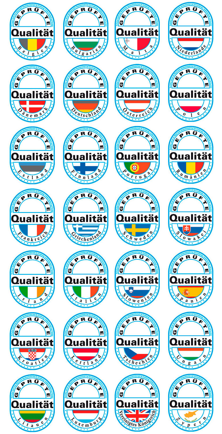 Geprüfte Qualität Bayern Länderlogos